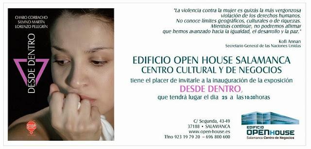 Desde dentro, muestra fotográfica de Larry P. Nice en OpenHouse de Salamanca