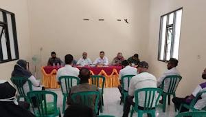 Camat Wawo Melakukan Rapat Koordinasi Bersama Unsur FKP Wawo  KUPT Dan Kepala Desa Se- kecamatan  Wawo