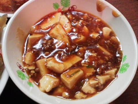 麻婆豆腐 まんが喫茶ビッグ2回目