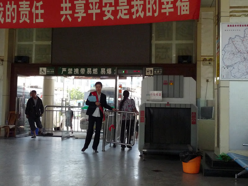 Jinghong, gare des cars