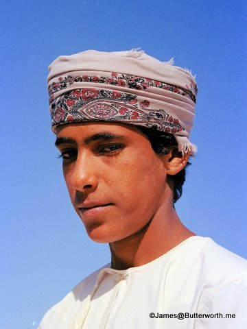 Oman - Handsome guy (photo credit: James@Butterworth,me)