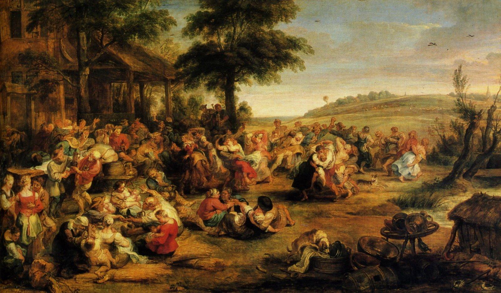 La Kermesse (Rubens,1630-1635)