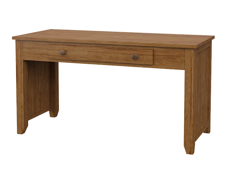 Shaker Writing Desk In Como Maple