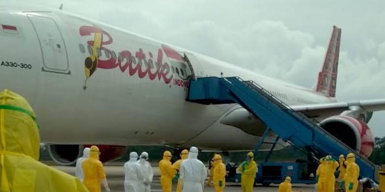 Disterilisasi, Batik Air ID-8619 Dijauhkan dari Pesawat yang Lain