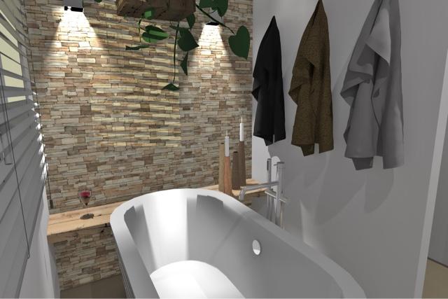 Arnoud Herberts Interieurarchitect: Impressies badkamer voor klant ...