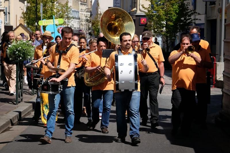 La fanfare municipale de Nanterre à Écozone