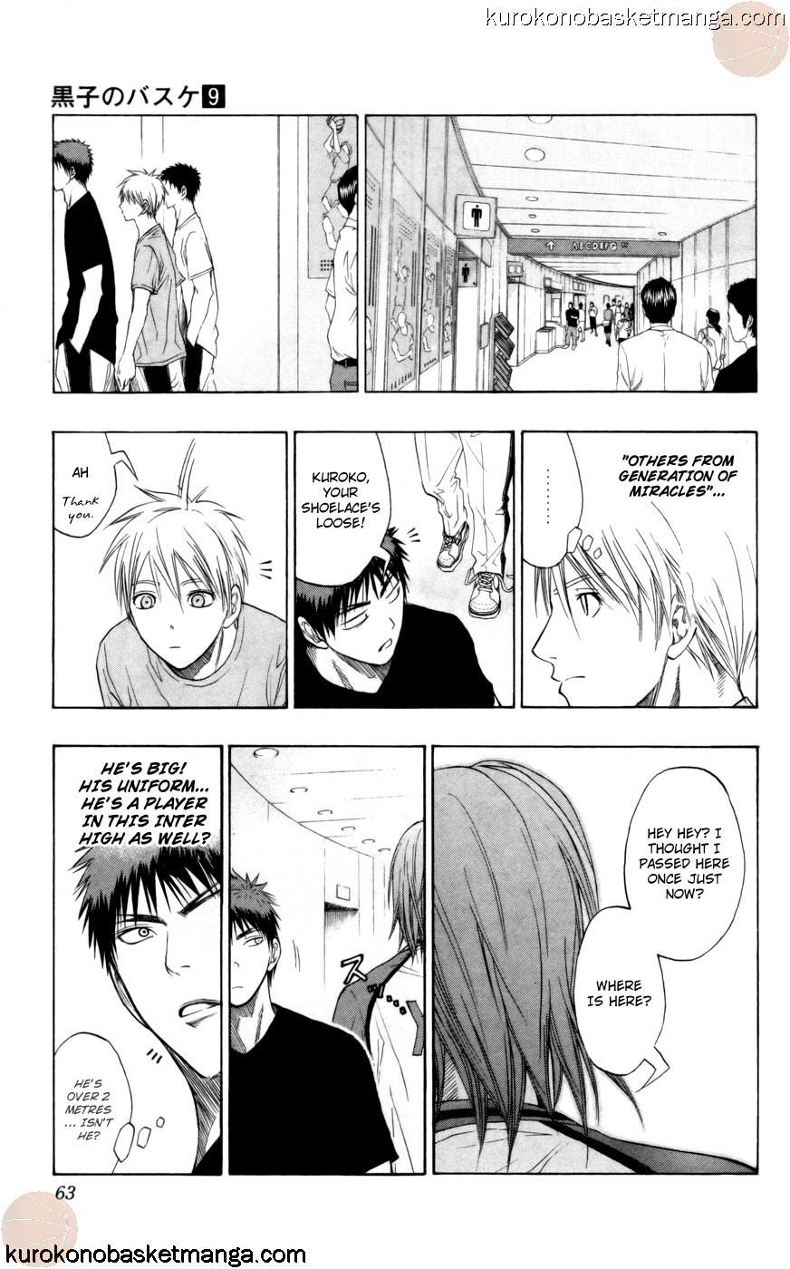 Kuroko no Basket Manga Chapter 73 - Image 17