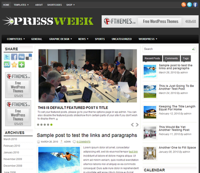 PressWeek – by Fthemes