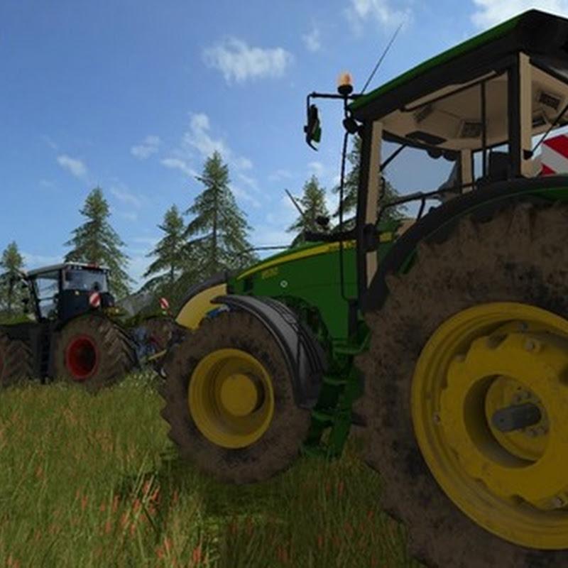 Farming simulator 2017 - John Deere 8530 V 2.1