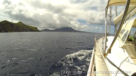 Nevis Peak in avvicinamento - Nevis