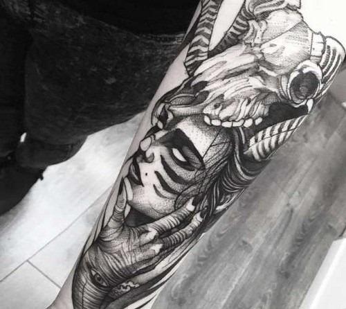 esboço_de_estilo_bruxa_de_tatuagem