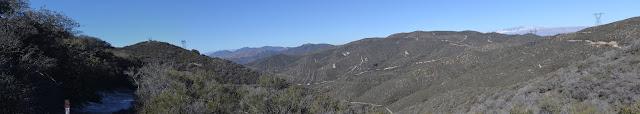 Spunky Canyon panorama