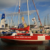 Bassin Vauban : concurrent Route du Rhum, voilier Soliance