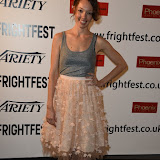 OIC - ENTSIMAGES.COM - Akasha Villalobos at the Film4 Frightfest on Monday   of  Last girl standing UK Film Premiere at the Vue West End in London on the 31st  August 2015. Photo Mobis Photos/OIC 0203 174 1069