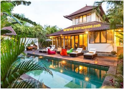 Kolam Tropis Gaya Bali
