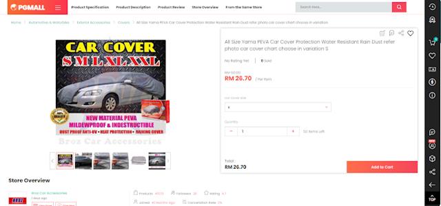 Cover kereta