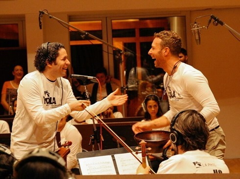 coldplay superbowl dudamel