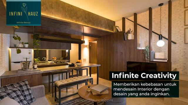 Show Unit Rumah InfiniHauz Banjar Wijaya