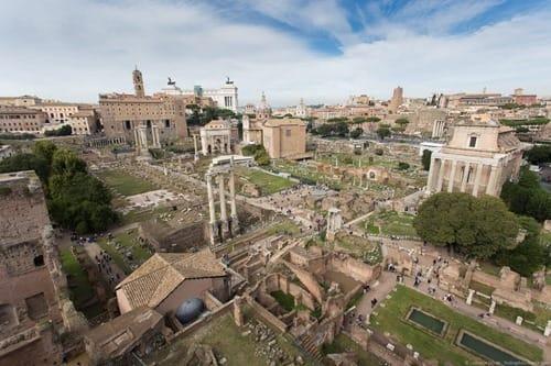 Roman forum Rome walks of italy
