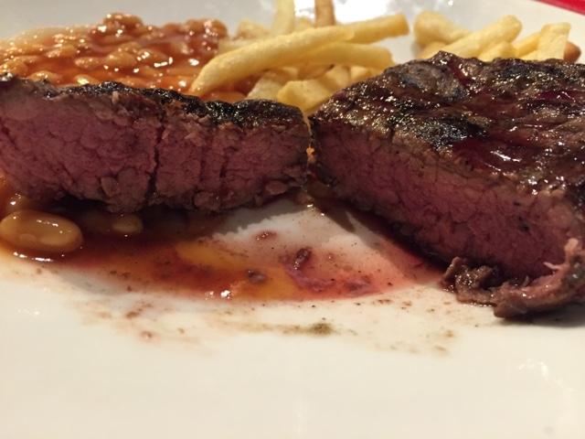 succulent steak beefeater