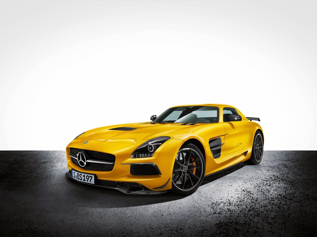 2014 Mercedes-Benz SLS AMG Black Series 1