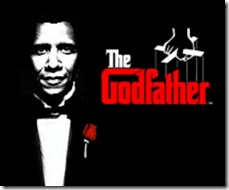 Obama as The Godfather with rose 700