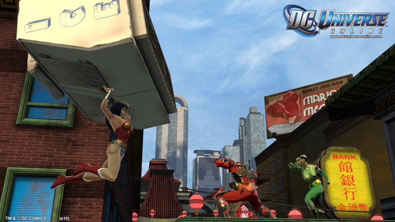 Khám phá DC Universe Online: Wonder Woman - Ảnh 7