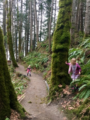 Hiking in Comox