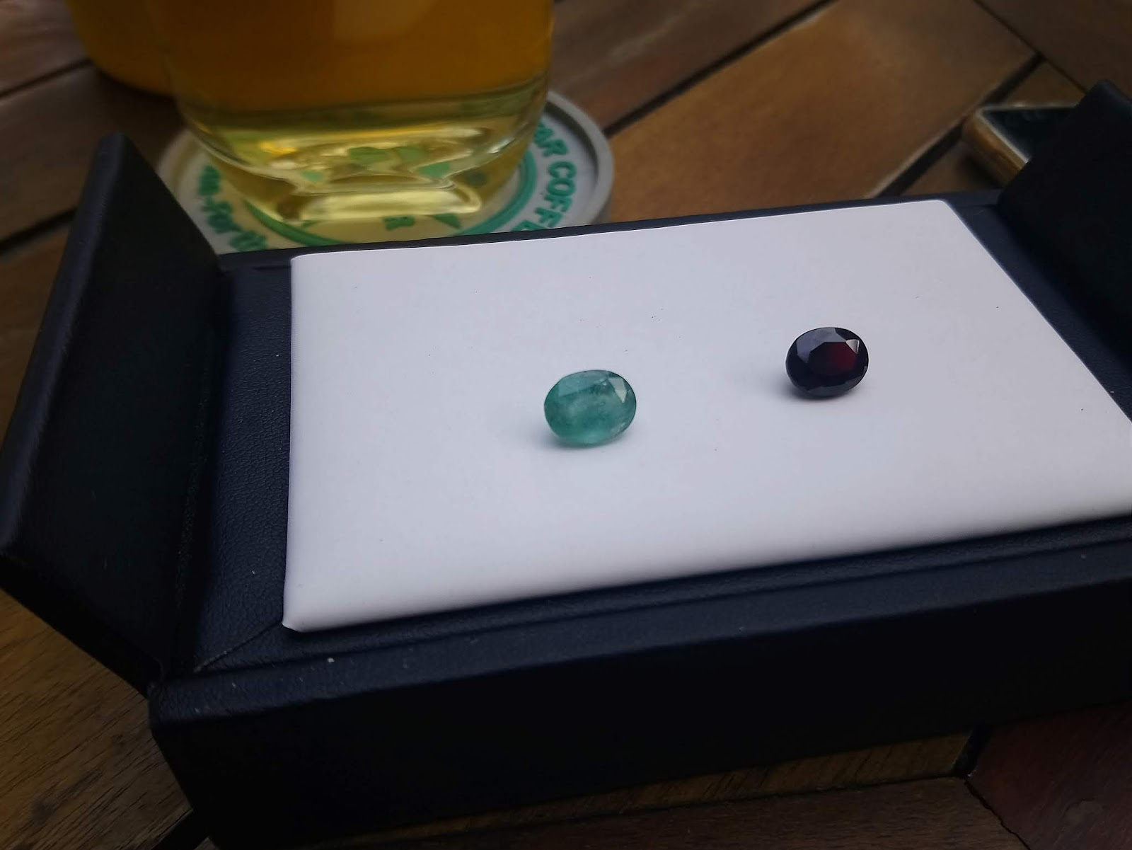 Đá Emerald Ngọc Lục Bảo thiên nhiên 3cts