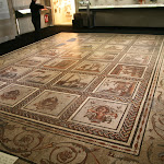 Musée d'archéologie nationale, Gaule romaine : mosaïque de Saint-Romain-en-Gal, début du IIIe siècle ap. J.-C.