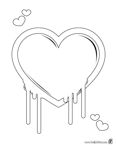 Broken Heart Col Broken Hearts Coloring Pages