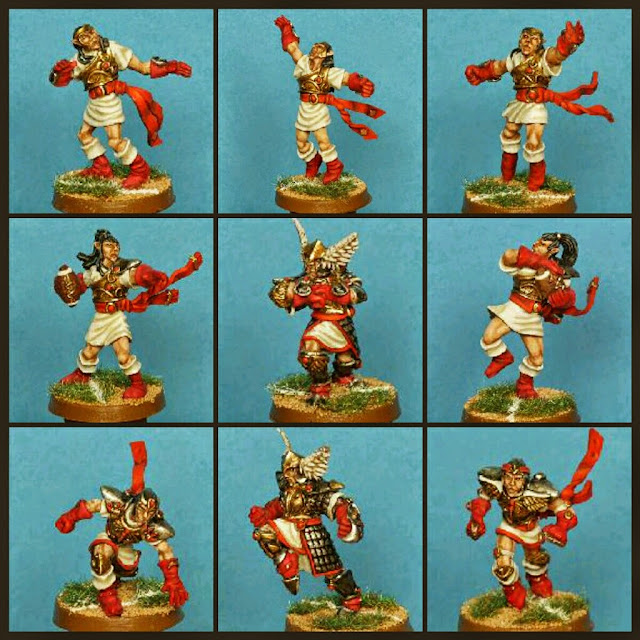 Equipo Altos Elfos Gaspez-arts Blood Bowl