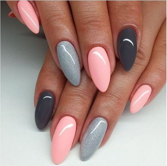60 +Pic Pink Gel Nails Ideas 2018 - style you 7