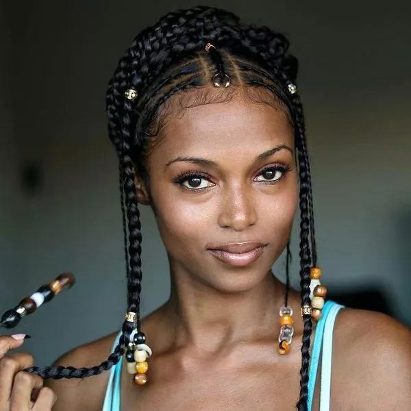Latest Nigerian Braids Hairstyles For Ladies 2