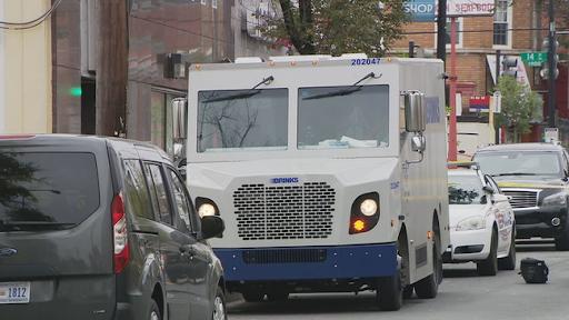 Three heavily armed men rob armored truck in Washington DC