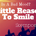 In A Bad Mood? 4 Little Reasons To Smile