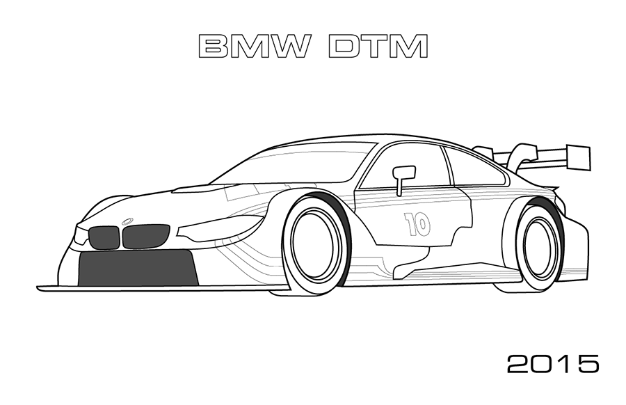 Mclaren f1 coloring pages