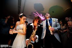 Foto 1466. Marcadores: 30/10/2010, Casamento Karina e Luiz, Diversos, Rio de Janeiro, Rodrigo Sha, Saxofonista