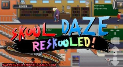 Skool Daze Reskooled! Imagem do Jogo
