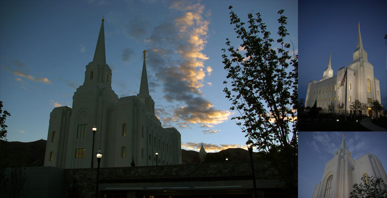 Brigham City Utah Temple, October 11, 2012