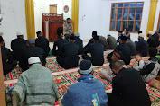 Brimob Kompi 3 Batalyon B Pelopor Lakukan Saweu Mesjid Al- Amilin di Bener Meriah