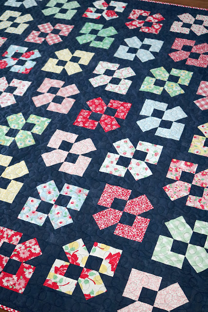 Lucky Duck quilt pattern by Andy of A Bright Corner