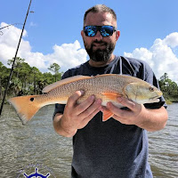 Robbie with his solt redfish 10-06-2018