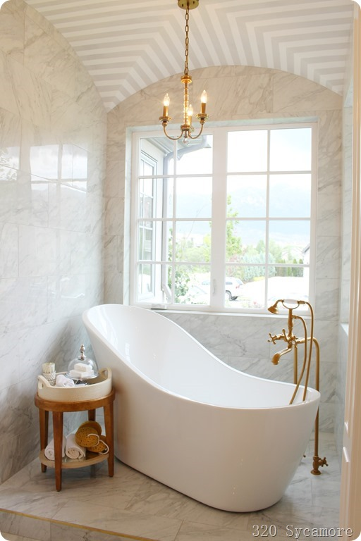 sleek modern tub carrera bath