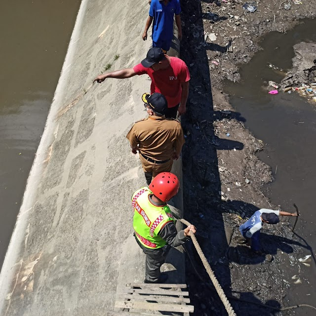 Air Bendungan Telaga Sari Mengering, SAR Brimob Kaltim Bergerak Amankan Lokasi Kejadian