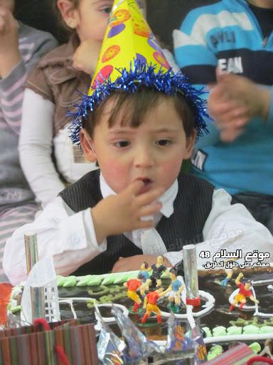 انا اسمي كريم رائد مصاروه من باقة الغربية اتعلم في روضة عدن اليوم عيد ميلادي الرابع اترككم مع الصور  IMG_5256