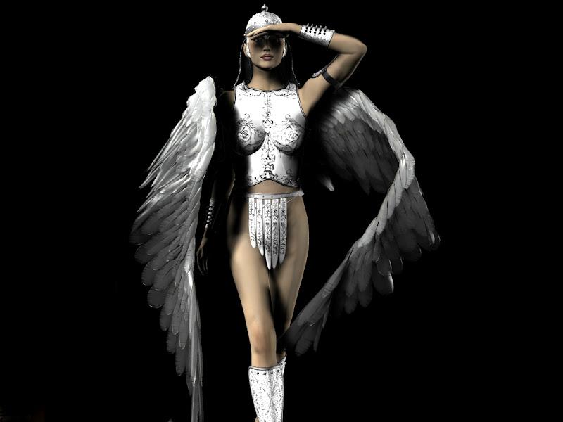 Wings Of Heavenly Angel, Angels 4