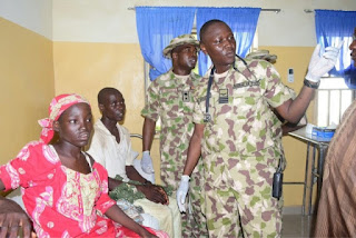 Rescued Chibok girl, Amina Ali Nkeki
