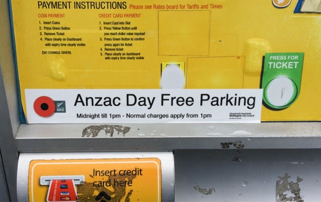 Wellington parking daily coupons