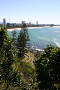 Trails in Burleigh Heads National Park